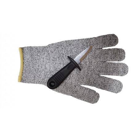 Устричный нож + Перчатка от порезов
