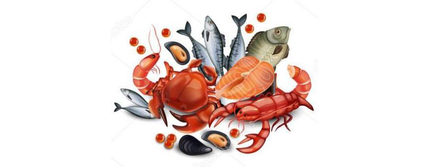 Морепродукты. Доставка на дом. Купить морепродукты в Москве